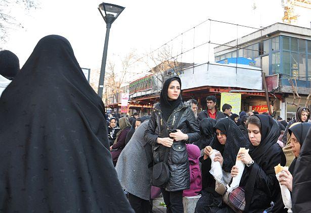 На вуліцы ў Іране...