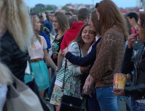 В Барановичах прошел open air, посвященный Дню молодежи