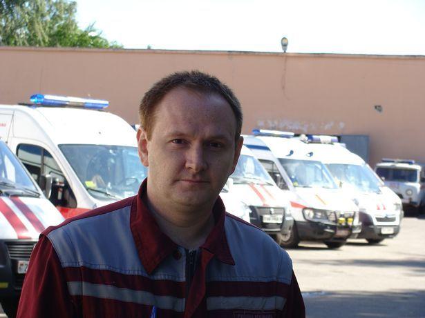 Барановичский врач «скорой помощи» с 5-летним стажем Борис Семидоцкий