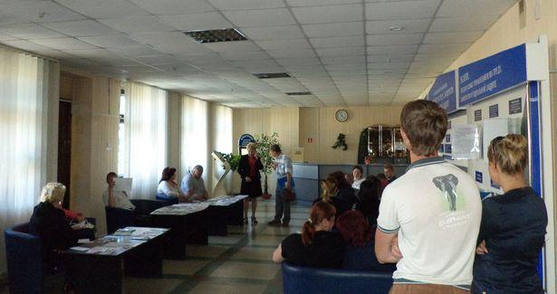 Предприниматели в Центре занятости. Фото Виктора Сырицы