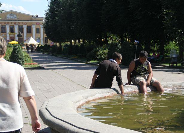 жара в Барановичах
