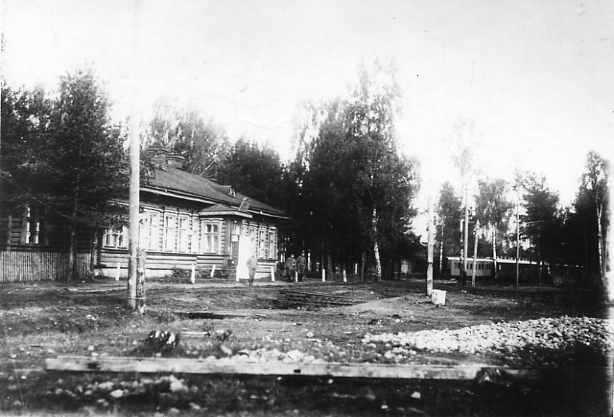 Вид одного из служебных помещений Ставки Верховного Главнокомандующего в Барановичах