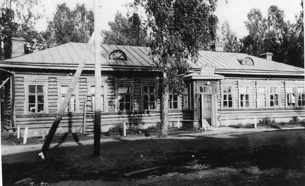 Здание полевых почты и телеграфа в Ставке Верховного Главнокомандующего в Барановичах