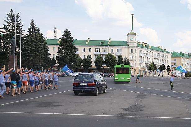 День ВДВ в Барановичах.