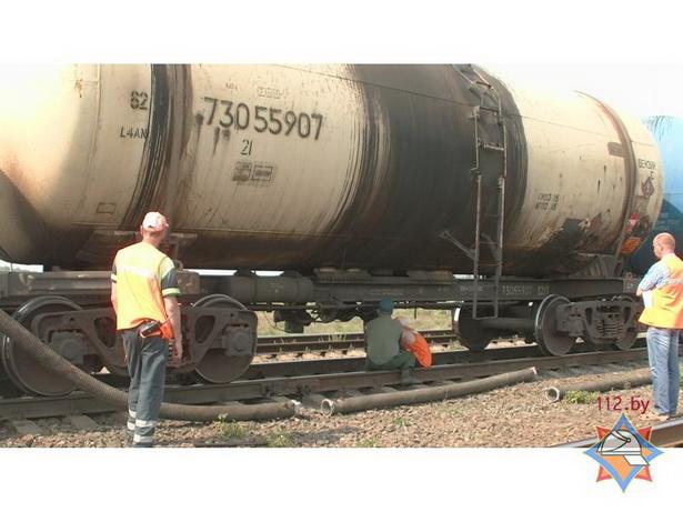Одна цистерна вмещает 68 тонн воды