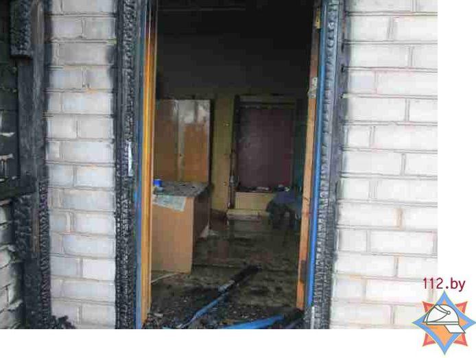 Из здания сотрудники МЧС спасли подсобного рабочего