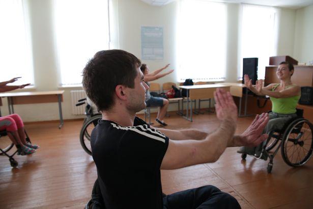 В Барановичах начал работу  лагерь-семинар для инвалидов.