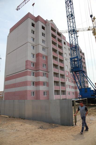 117-квартирный дом в Боровках-2 строители планируют сдать в сентябре.
