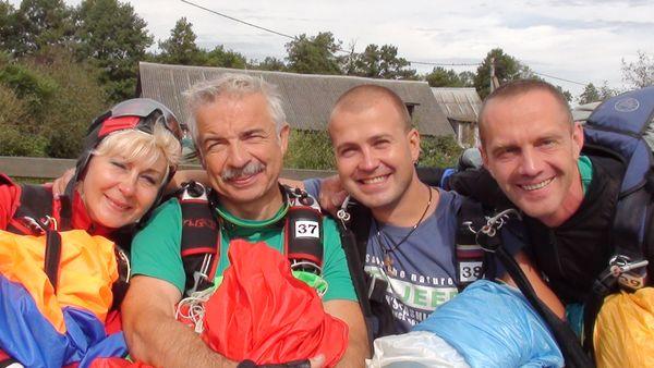 Барановичская команда парашютистов