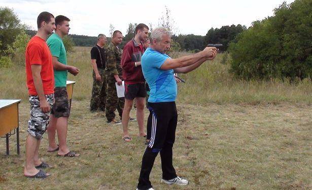 Во время соревнований проходили состязания по стрельбе