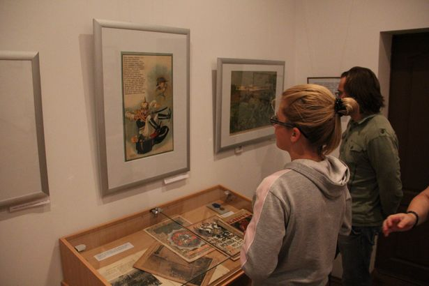 В Барановичах открылась выставка Реликвии Первой мировой войны. Фото Александра ТРИПУТЬКО