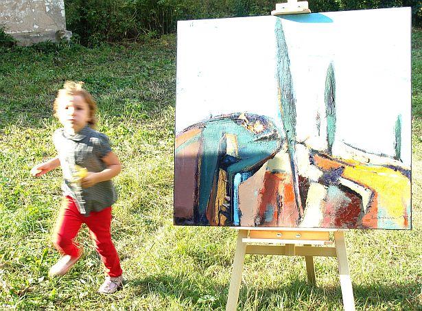 Фестываль сучаснага мастацтва ДАХ, Грушаўка, 23 жніўня, 2014. Фота: Алесь Гізун