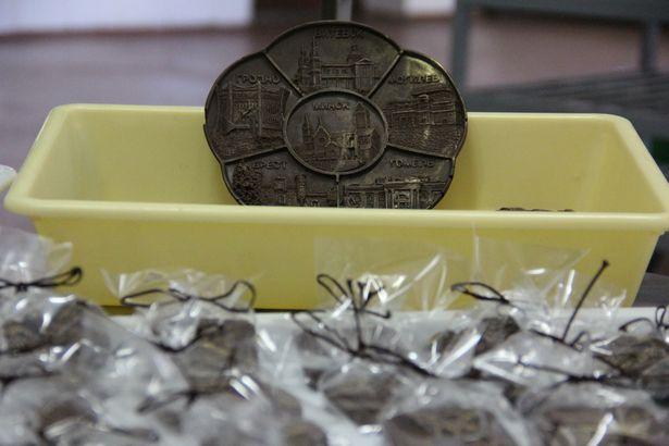 Шоколадные сувениры Барановичского хлебозавода. Фото Александра ТРИПУТЬКО