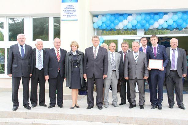 В Барановичах после капитального ремонта открыли Дом физкультуры