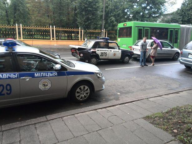 Авария на ул. Комсомольской