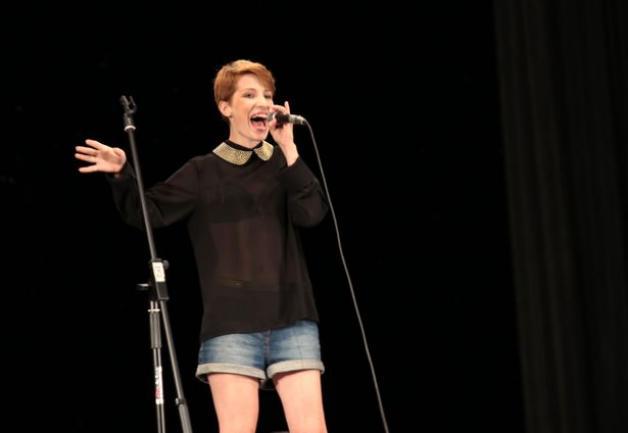 Маргарита Николаева впервые участвует в шоу Поющие города. Фото Дмитрия Макаревича