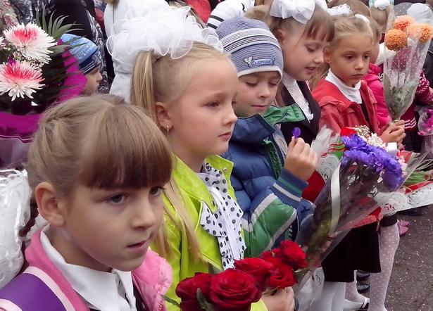 В барановичских школах начался учебный год. Фото Натальи Семенович