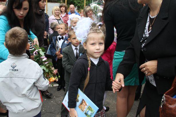 В барановичских школах начался учебный год. Фото Александра Трипутько