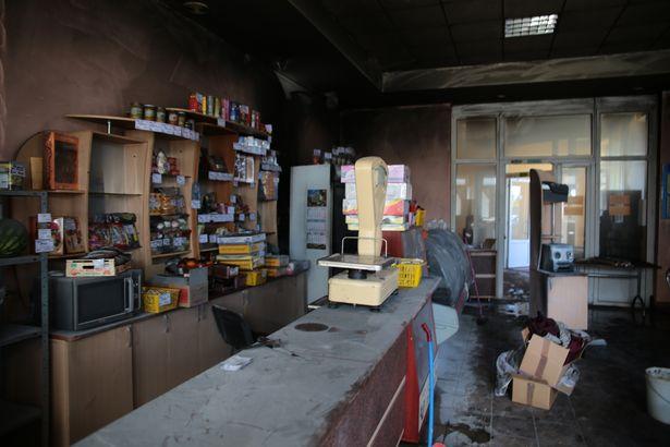 В Барановичах произошел пожар в здании столовой локомотивного депо