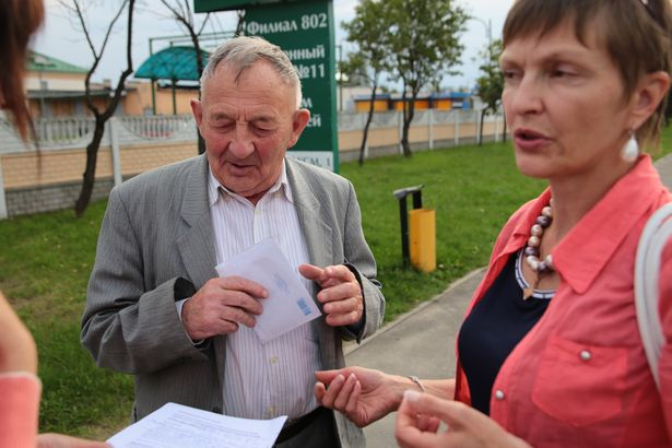 Марина Адамович помогла Виктору Павловичу добраться до ГОВД и подать заявление.