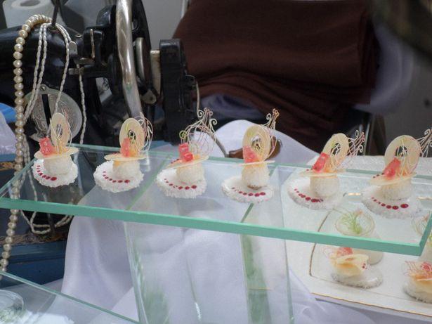 Птифуры, которые изготовила барановичский кондитер. Фото из архива Барановичского хлебозавода.
