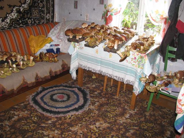 218 боровиков и  два пакета маслят, рыжиков и подберезовиков Фото: Раиса ЮРЕНЯ
