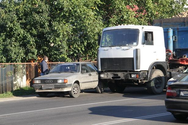 Авария на улице 50 лет БССР