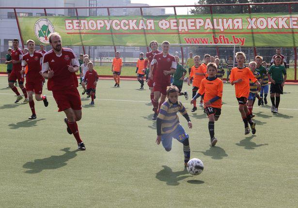 Фрагмент матча. Фото: Александр Трипутько.