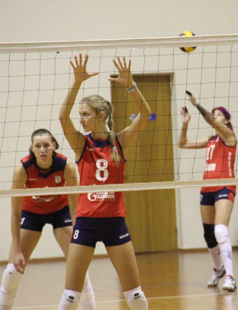 Российские волейболистки. Фото: Александр Трипутько.