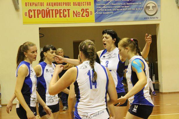 Барановичская команда. Фото: Александр Трипутько.