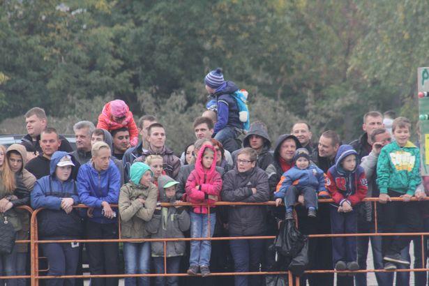 Зрители получили заряд позитива. Фото: Александр ТРИПУТЬКО.