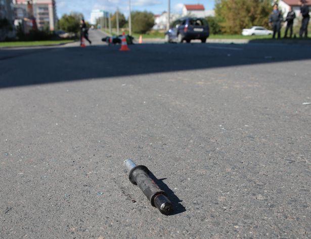 Мотоциклист пролетел 50 метров от места аварии