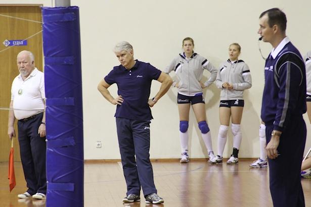 Главный тренер ВК Атлант Борис Коляда. Фото: Александр ТРИПУТЬКО.