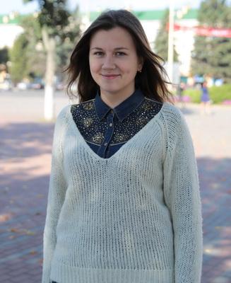Таццяна Філіпчык, студэнтка 1 курса БарДУ