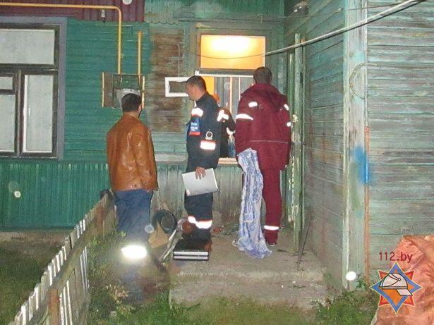 Возгорание произошло в доме на ул. Горького