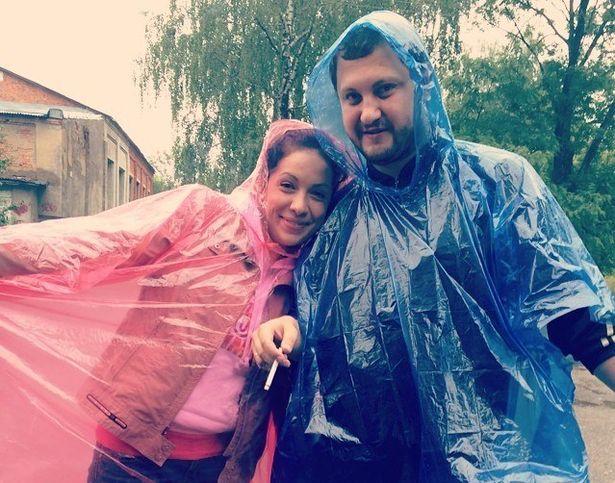 В дождевиках. Фото с официальной страницы ФК Барановичи ВКонтакте.
