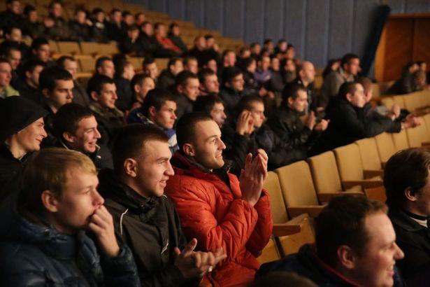 Дзень прызыўніка ў Баранавічах.