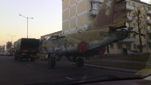 Су-25 у Баранавічах