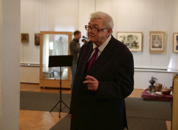 Бывший директор музея Валерий Поликарпов.
