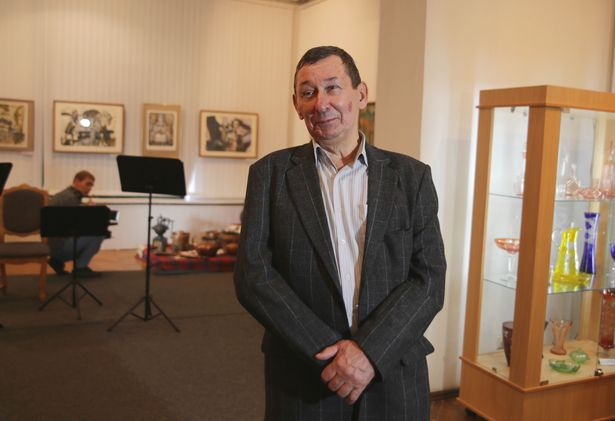 Бывший директор музея Станислав Щербаков.