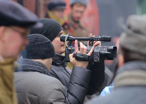 В Барановичах прошли съемки документального фильма.