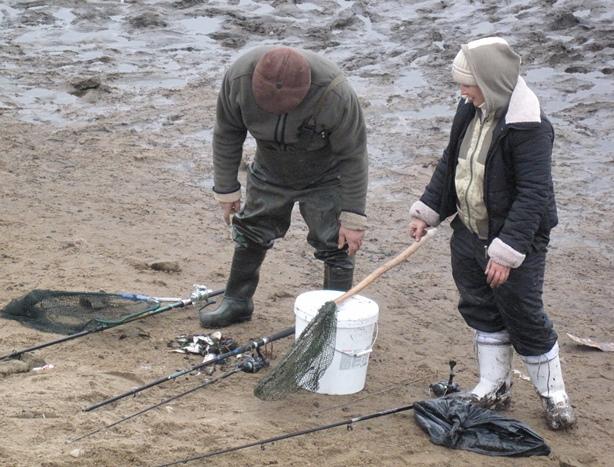 Люди не давали шансов выжить даже мелкой рыбешке. Фото: Татьяна НЕКРАШЕВИЧ.