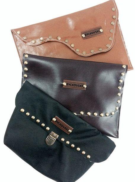 Кожаные сумки. Дизайнер – Евгений Бычковский. Фото из архива автора.