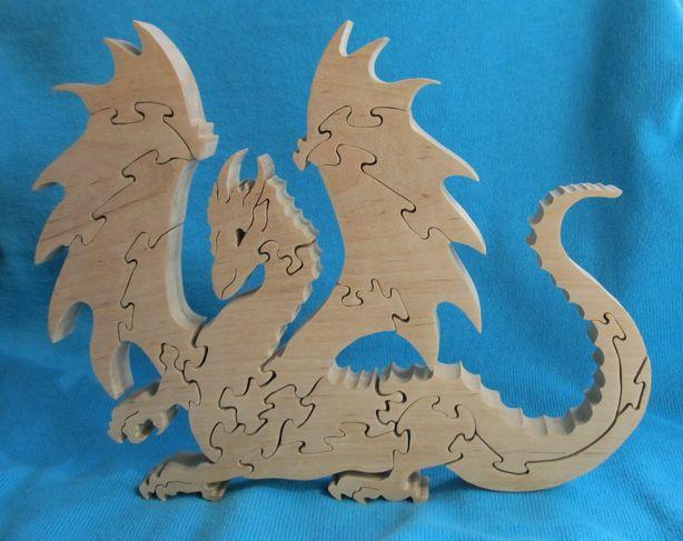 Пазл-дракон мастера Виктора Дарковича. Фото из архива автора.