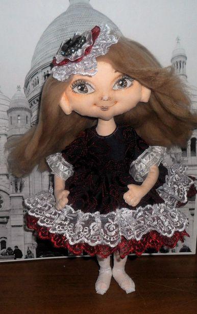 Кукла мастерицы Катерины Пинаевой. Фото из архива автора.