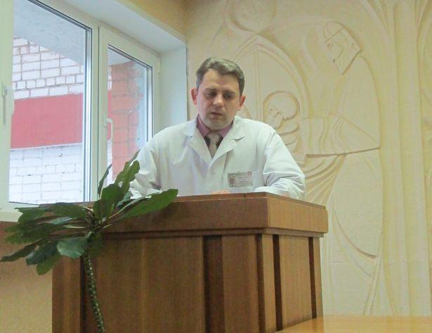 Заведующий диспансерным отделением городского онкологического диспансера Олег Самусенков. Фото: Ольга ПРОСТАК