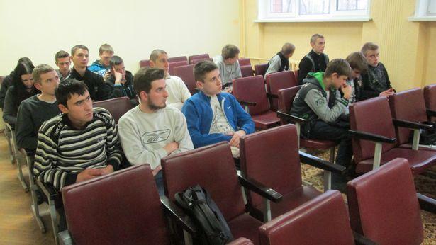 Встреча в Международный день отказа от курения была организована для учащихся 61-го строительного лицея г. Барановичи. ФОТО: Ольга ПРОСТАК