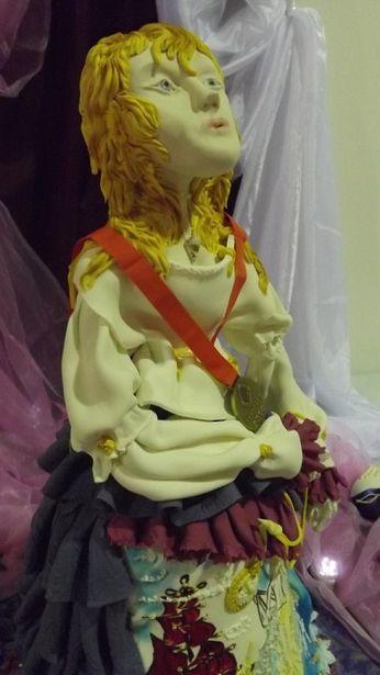 Торт в виде куклы-марионетки «Ассоль». Фото: архив Ольги Рыбалтовской