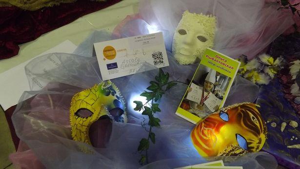 Сладкие маски. Фото: архив Ольги Рыбалтовской