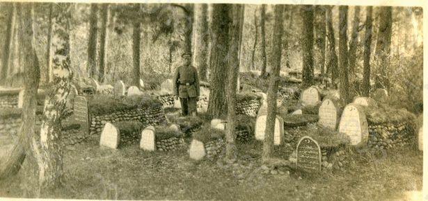 На старых яўрэйскіх могілках
